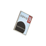Modern ~ Covid-19 Vaccinated | Lapel Pin | Covid Vaccine Pin Project