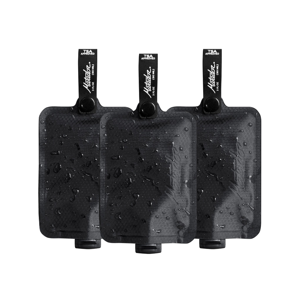 Matador | FlatPak™ Toiletry Bottle 3-Pack - Index Urban
