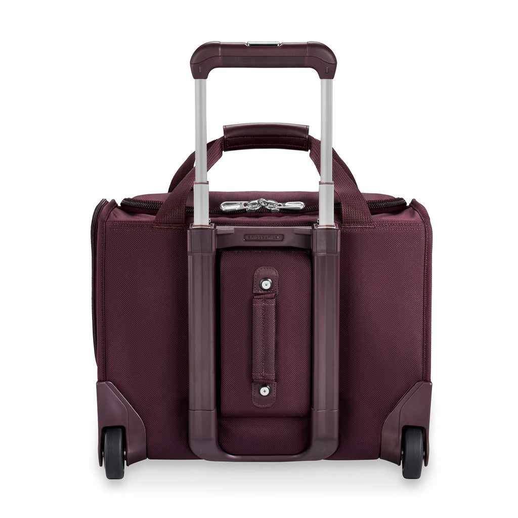 Briggs & Riley | Limited Edition Rolling Cabin Bag | Plum