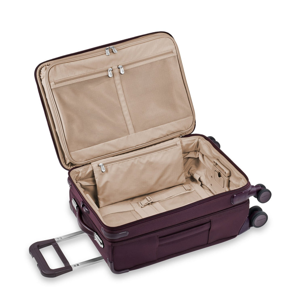 Briggs & Riley | Limited Edition Domestic Carry-On Expandable Spinner | Plum