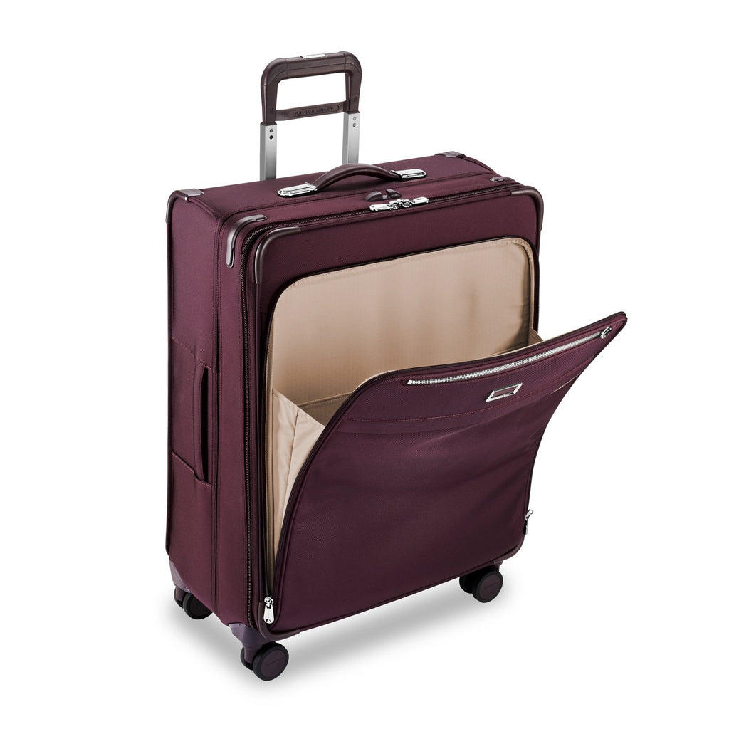 Briggs & Riley | Limited Edition Large Expandable Spinner | Plum