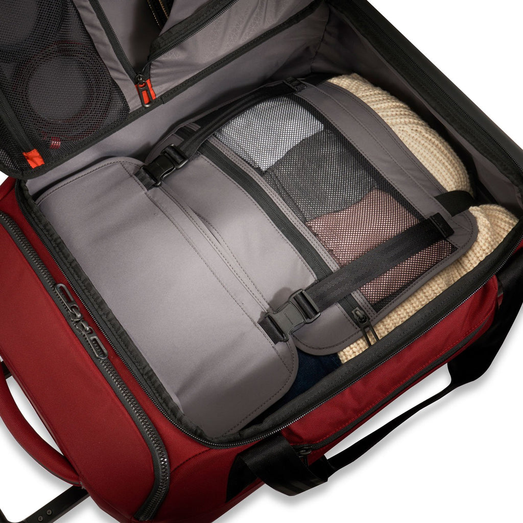 Briggs & Riley | ZDX | International Carry-on Upright Duffle - Index Urban