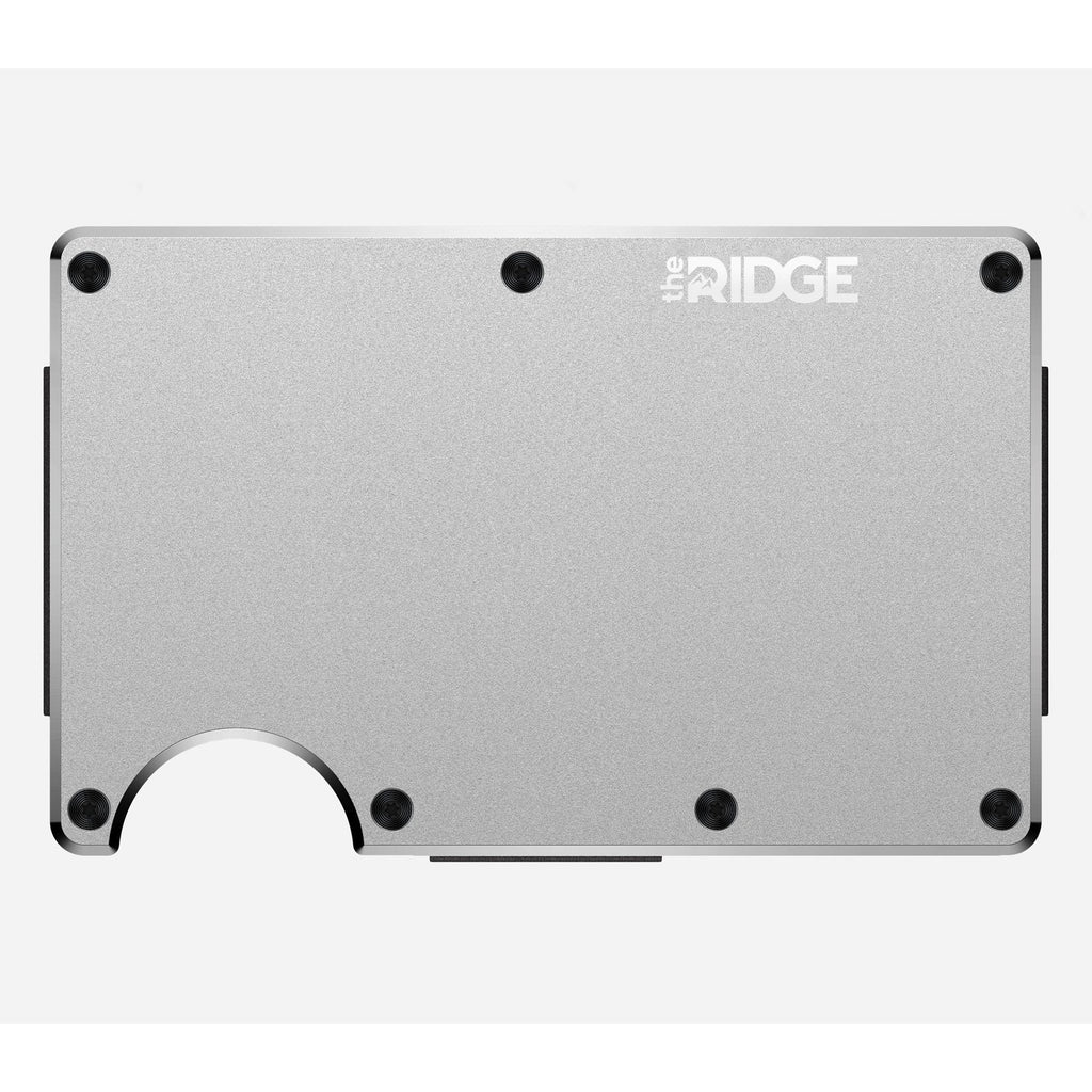 The Ridge | Aluminum Wallet + Cash Strap | Raw - Index Urban
