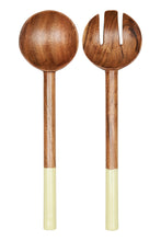 Load image into Gallery viewer, EB + IVE - MEXICANA SALAD SERVERS - HONEY