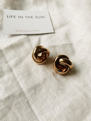 GOLDIE Stud Earrings | By: Life in the sun store
