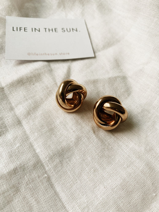 2020 GOLDIE Stud Earrings | By: Life in the sun store