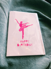 Load image into Gallery viewer, ME AND AMBER - BALLERINA BIRTHDAY CARD