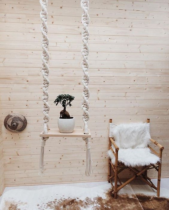 Macrame Swing Decor