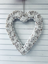 Load image into Gallery viewer, Handmade Shell Heart Decor (Two Sizes)