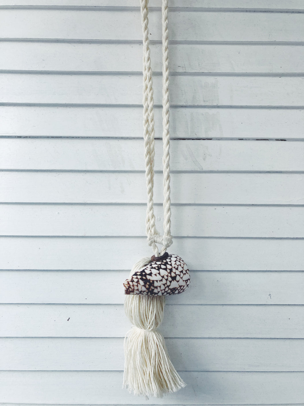 Woven Twist - KORA shell: Curtain Tie Back