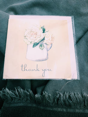 THANK YOU FLOWER POT CARD - Coco78
