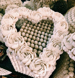 Handmade Shell Heart Decor (Two Sizes)