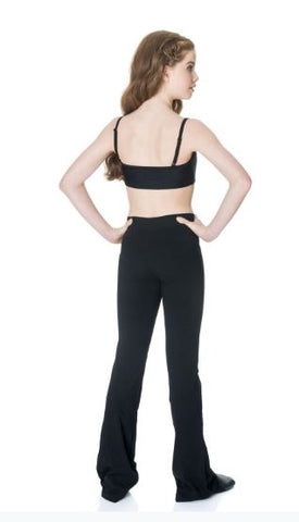 STUDIO 7 DANCEWEAR - ADULTS CROSS BAND JAZZ PANTS -adJP01