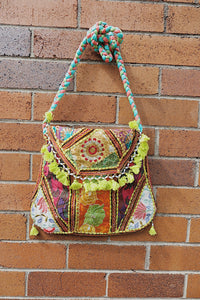 Indie Tribal Embroidered Side Bag