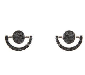 EB + IVE - METAL EYE PINS - SILVER AND GOLD