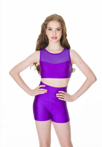 Studio 7 Dancewear / Adult's High Waisted Shorts - ADS06