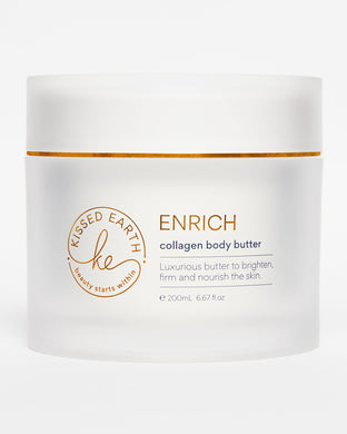 Kissed Earth -Enrich Collagen Body Butter 200mL