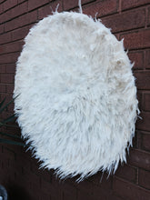 Load image into Gallery viewer, Giant Natural White FEATHER  JUJU Wall Hanging