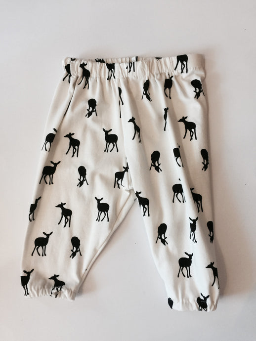 iluca | Monochrome Doe Child Harem Pants - unisex