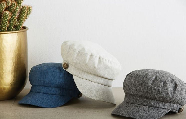 EB + IVE - HACIENDA PEAK CAP - VARIOUS COLOURS