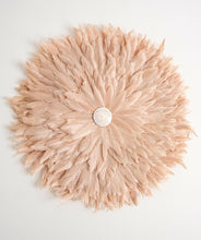 Load image into Gallery viewer, Blush Pink Feather Juju Wall Hanging- 60cm