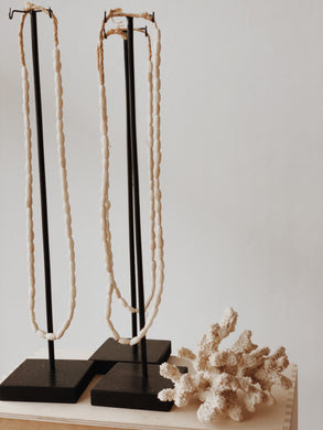 Bone Necklace African Decor On Stand