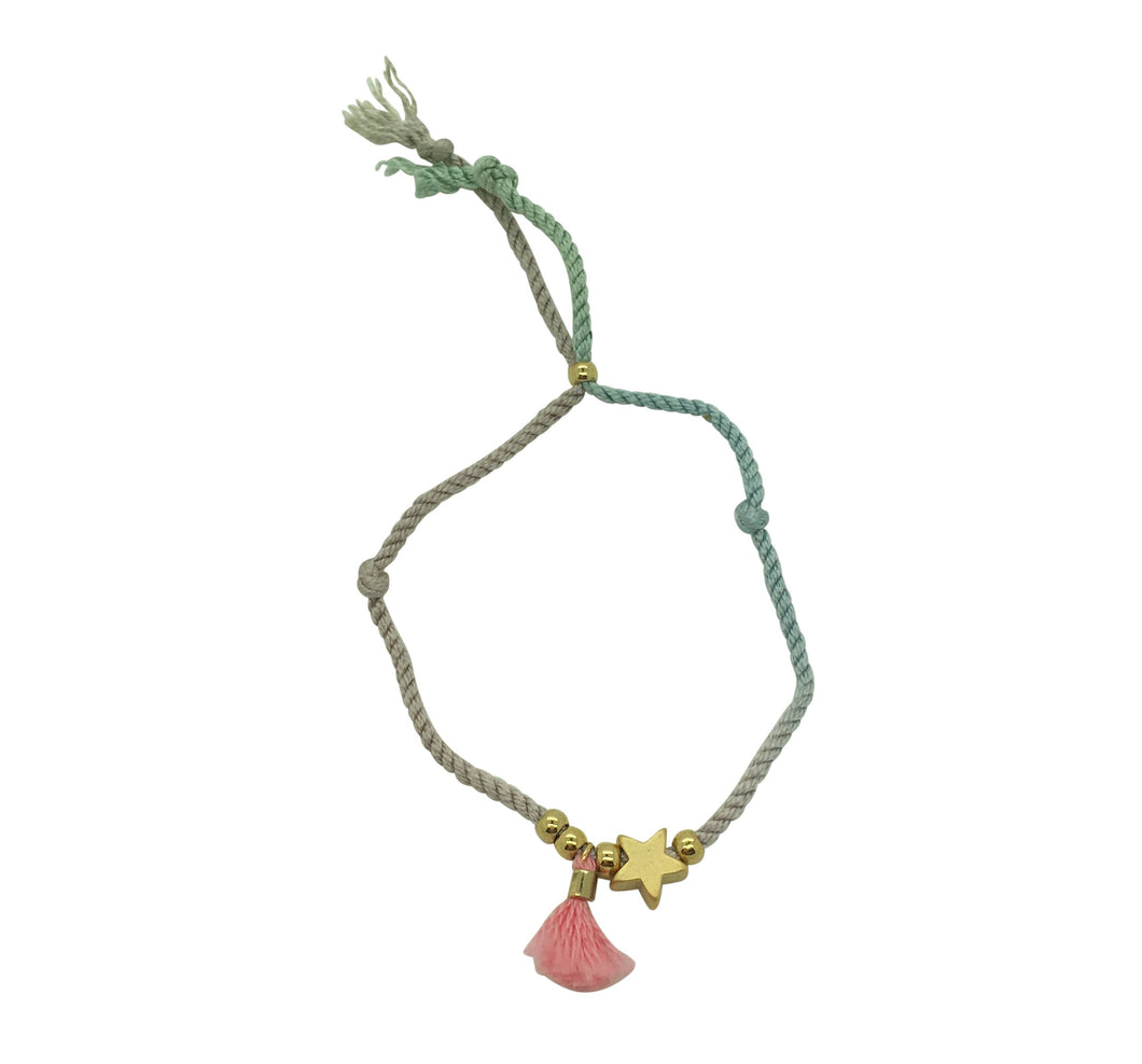 Odisya- Silk Thread Star Tassel Bracelet