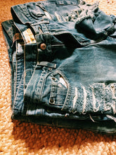 Load image into Gallery viewer, Various Ladies Vintage Denim Cut offs