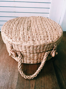 Market Girl Woven Bucket Bag