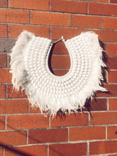 Load image into Gallery viewer, Handmade Shell Neck Tribal Wall Hanging ( available with stand)