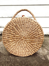 Load image into Gallery viewer, Market Girl Woven Bucket Bag
