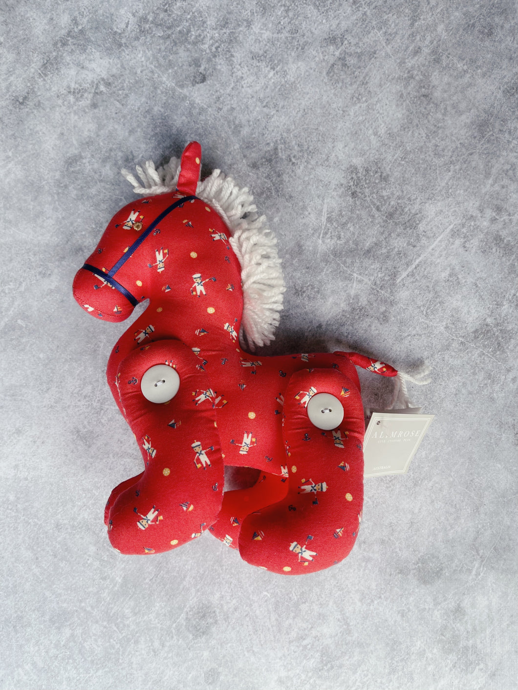 Alimrose - Jointed Pony Sailor Red