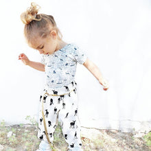 Load image into Gallery viewer, iluca | Monochrome Doe Child Harem Pants - unisex