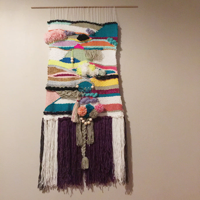 SUMMER MEGA WEAVE - Wall Weaving.