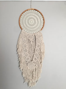 MACRAME DETAILED LARGE SIZE DREAMCATCHER