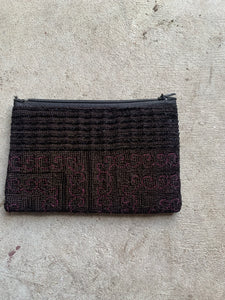 'Surin Shore' Thai Hmong Velvet Detailed  Purse