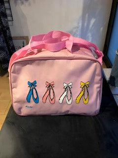 Pink mini dance bag