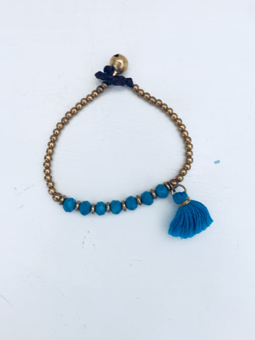 Bohemian Rapture Tassel Bracelet (Various Colours)