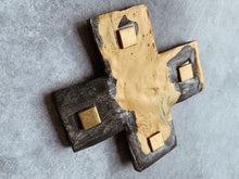 Load image into Gallery viewer, Golden daze-  Ceramic Cross