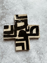 Load image into Gallery viewer, AKINA - Monochrome Ceramic Cross
