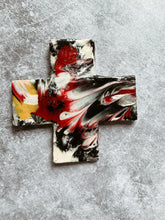 Load image into Gallery viewer, Marble Multi-  Ceramic Cross