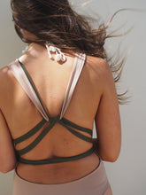 Load image into Gallery viewer, GERRY CAN // LILAH ONE PIECE // KHAKI AND NUDE