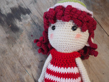 Load image into Gallery viewer, Strawberry Kiss Handmade Knitted Doll