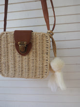 Load image into Gallery viewer, Cream Natural - Adventure Parcel Woven Straw Hand bag