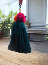 Load image into Gallery viewer, Fern Lush  Pom Pom Keyring