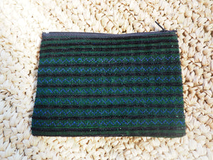 'Paradiso' Thai Hmong Velvet Detailed  Purse