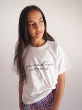 Load image into Gallery viewer, Gerry Can Kids Active - 'Paradise on my mind' Organic Cotton Tee - GERRY CAN