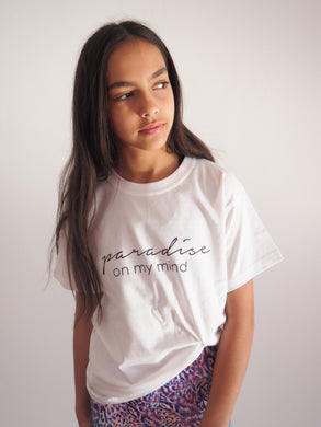 Gerry Can Kids Active - 'Paradise on my mind' Organic Cotton Tee - GERRY CAN