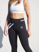 Load image into Gallery viewer, Gerrycan To The Max Black Modern Activewear Compression Leggings