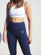 Load image into Gallery viewer, Gerrycan Blue and Navy Full Length Compression Activewear Leggings